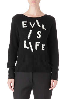 ACNE Evil is Life jumper