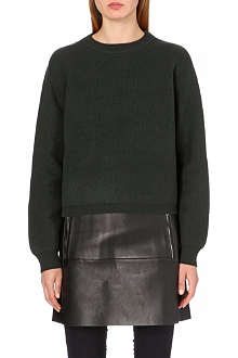 ACNE Misty boiled-wool jumper