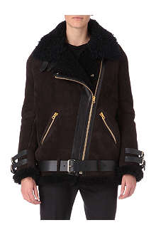 ACNE Velocite shearling coat