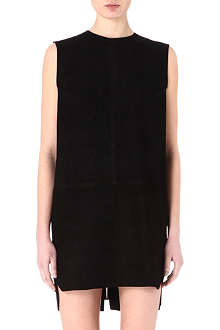 ACNE Miska suede dress