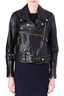 ACNE Merci leather biker jacket