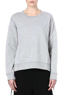ACNE Angle fleece sweatshirt