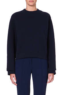 ACNE Long-sleeved jersey sweatshirt