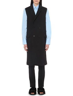ACNE STUDIOS Vilunia scuba double-breasted waistcoat