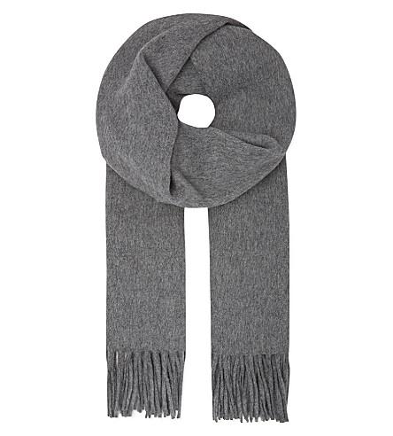 ACNE STUDIOS Canada scarf (Grey melange