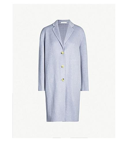 ACNE STUDIOS Avalon wool and cashmere-blend coat (P blue mel