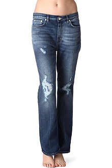 ACNE Hot Trash bootcut low-rise jeans