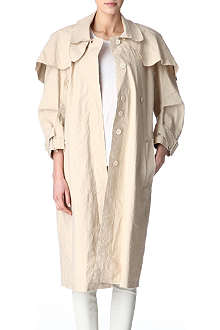 ACNE Lake Light trench coat