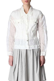ACNE Orion sheer jacket