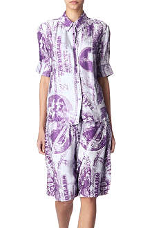 ACNE Patia currency-print shirt