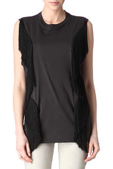 ACNE Zone Fringe top