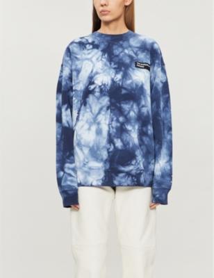 Forba tie-dye cotton-jersey sweatshirt