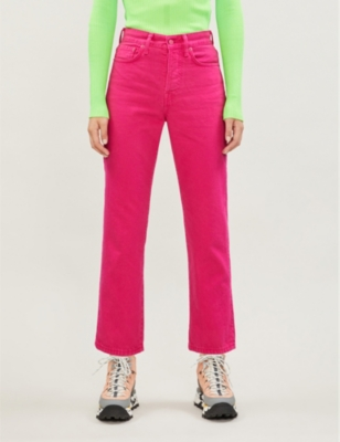 Mece straight high-rise jeans