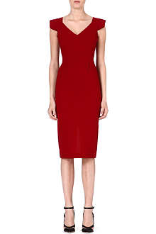 ROLAND MOURET Atria wool dress