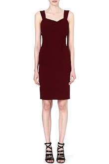 ROLAND MOURET Meissa stretch-crepe dress