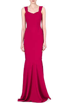 ROLAND MOURET Orpheus pleated gown