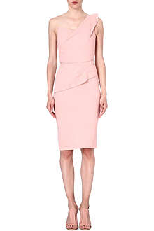 ROLAND MOURET Pernice asymmetrical dress
