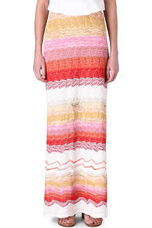 MISSONI Fine-knit maxi skirt