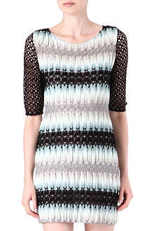 MISSONI Open-knit crochet dress