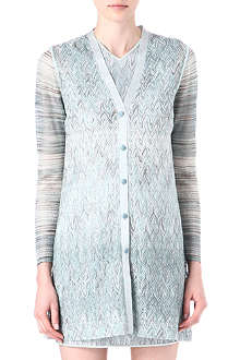 MISSONI Long-knit cardigan