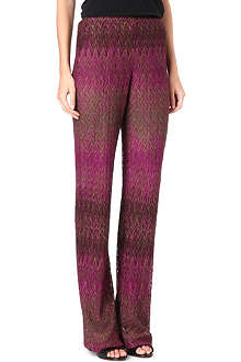 MISSONI Crochet trousers