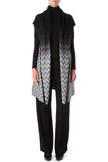 MISSONI Shawl collar long cardigan