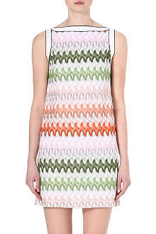 MISSONI Crochet knitted dress