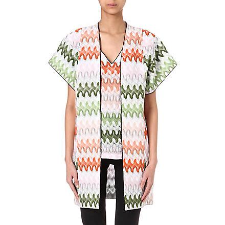 MISSONI Knitted kimono (Green