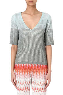 MISSONI Crochet-knit top