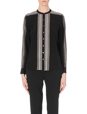TEMPERLEY LONDON Girona silk shirt