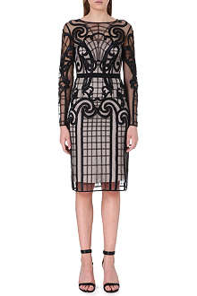 TEMPERLEY LONDON Catroux embroidered dress