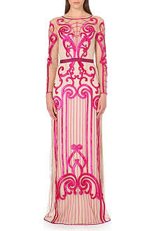 TEMPERLEY LONDON Catroux embroidered gown