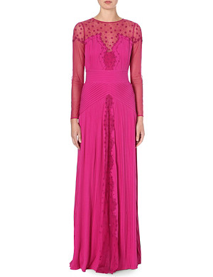 TEMPERLEY LONDON Embroidered gown