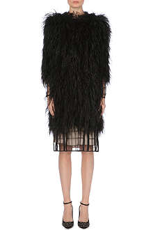 TEMPERLEY LONDON Feather coat