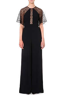 TEMPERLEY LONDON Lace-insert jumpsuit