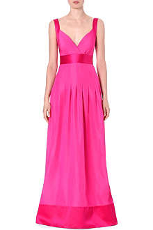 TEMPERLEY LONDON Sleeveless full-length gown