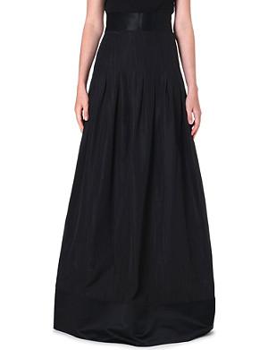 TEMPERLEY LONDON Palais pleated maxi skirt