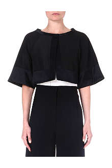 TEMPERLEY LONDON Cropped cotton-blend jacket