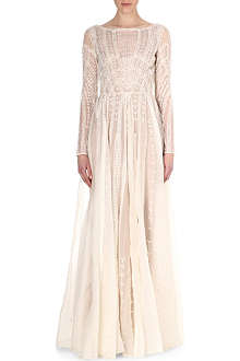 TEMPERLEY LONDON Christa maxi dress