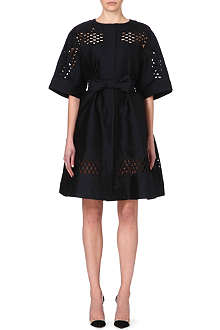 TEMPERLEY LONDON Bow-belt coat