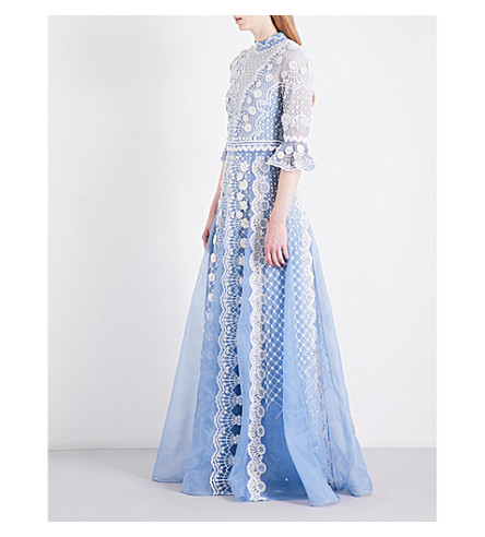 TEMPERLEY LONDON Jewellery Show embellished silk-organza gown (Iris