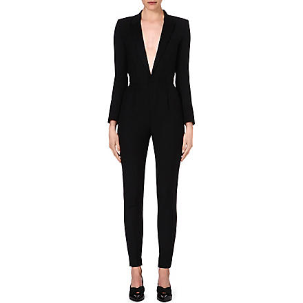 SAINT LAURENT Tuxedo jumpsuit (Black