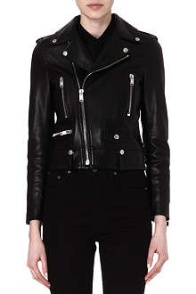 SAINT LAURENT Perfecto leather jacket
