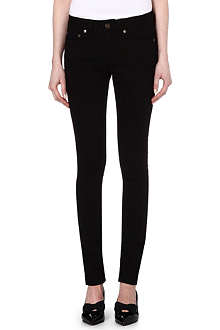 SAINT LAURENT Skinny low-rise jeans