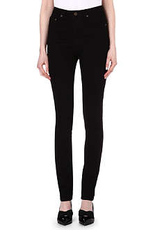 SAINT LAURENT Skinny high-rise jeans