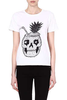 SAINT LAURENT Pineapple print t-shirt