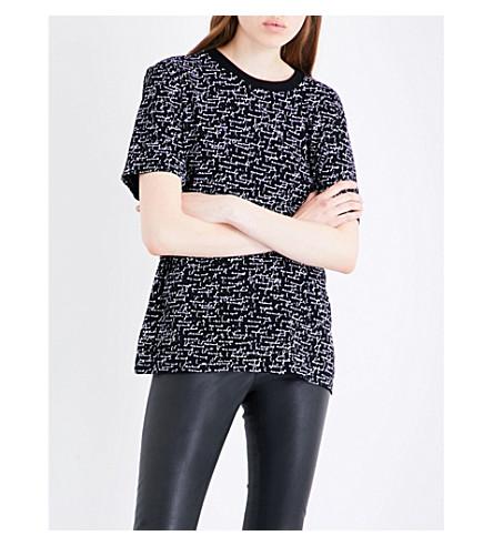 SAINT LAURENT I Love You cotton-jersey T-shirt (Black