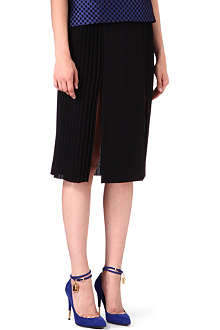 OSMAN YOUSEFZADA Pleated sides skirt
