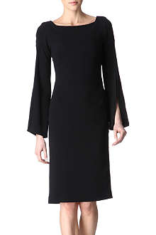 OSMAN Stretch-crepe dress