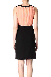 OSMAN Contrast-back dress